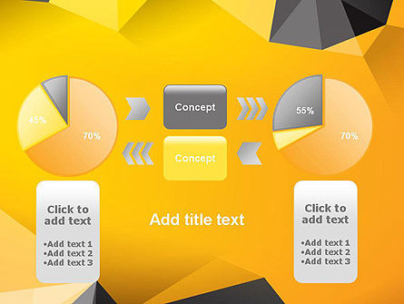 Polygonal PowerPoint Template Slide 16