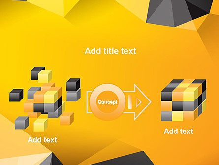 Polygonal PowerPoint Template Slide 17
