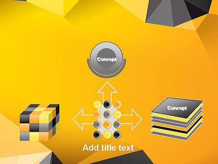 Polygonal PowerPoint Template Slide 19