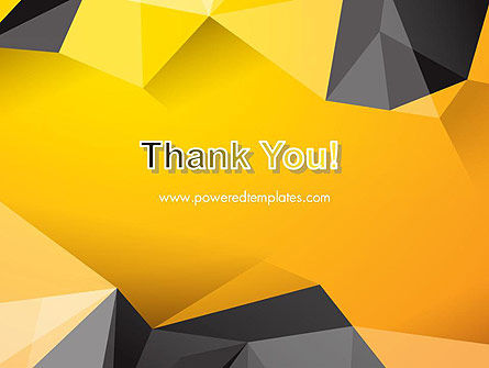 Polygonal PowerPoint Template Slide 20