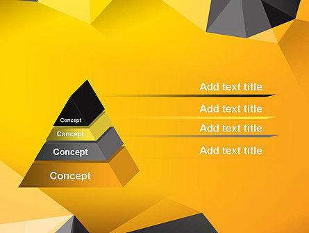 Polygonal PowerPoint Template, Slide 4, 12187, Abstract/Textures — PoweredTemplate.com