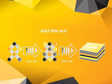 Polygonal PowerPoint Template Slide 9