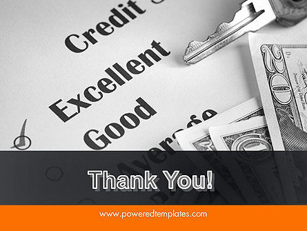Credit Score PowerPoint Template Slide 20