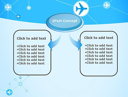 Airlines Theme PowerPoint Template Slide 4