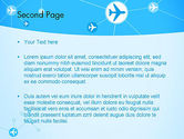 Airlines Theme PowerPoint Template#2