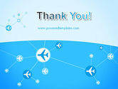 Airlines Theme PowerPoint Template#20