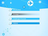 Airlines Theme PowerPoint Template#3