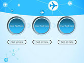 Airlines Theme PowerPoint Template#5