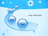 Airlines Theme PowerPoint Template#6