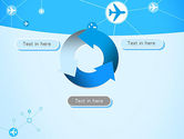 Airlines Theme PowerPoint Template#9