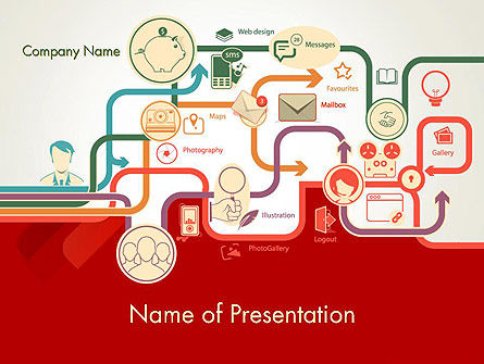 Business Processes Concept PowerPoint Template