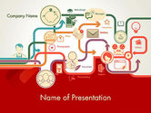 Business Concepts: Business Processes Concept PowerPoint Template #12191