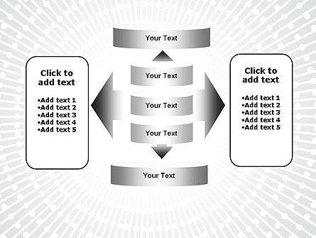 Radial Speed Lines PowerPoint Template Slide 13