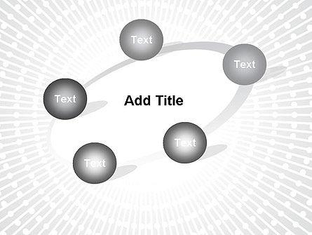 Radial Speed Lines PowerPoint Template Slide 14