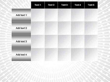 Radial Speed Lines PowerPoint Template Slide 15
