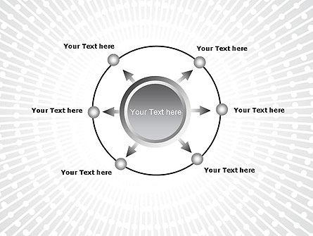 Radial Speed Lines PowerPoint Template Slide 7