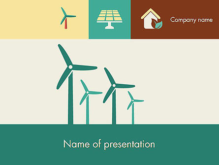 Technology and Science: Renewable Energy Presentation PowerPoint Template #12193
