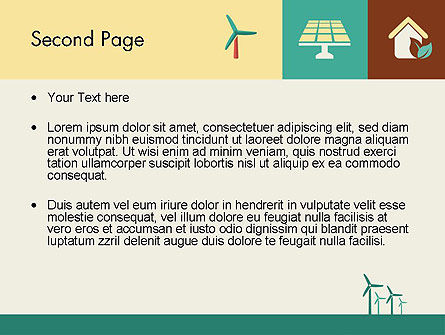 Renewable Energy Presentation PowerPoint Template, Slide 2, 12193, Technology and Science — PoweredTemplate.com