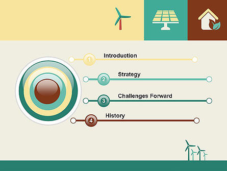 Renewable Energy Presentation PowerPoint Template, Slide 3, 12193, Technology and Science — PoweredTemplate.com