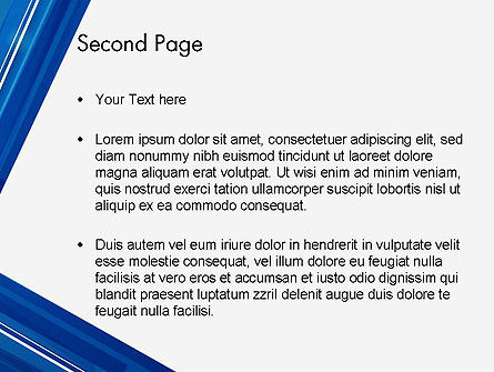 Abstract Angle PowerPoint Template Slide 2