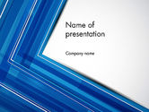 Abstract/Textures: Abstracte Hoek PowerPoint Template #12196