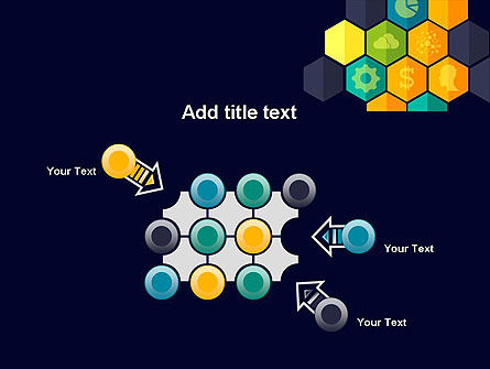 Hexagons with Icons PowerPoint Template Slide 10
