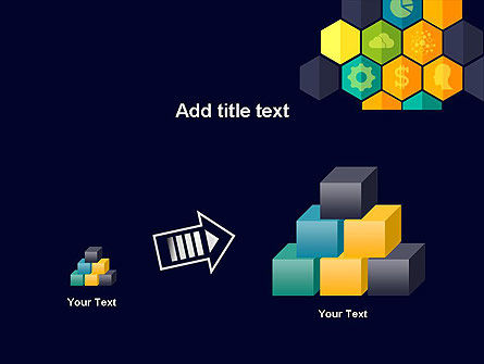 Hexagons with Icons PowerPoint Template Slide 13