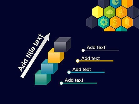 Hexagons with Icons PowerPoint Template Slide 14