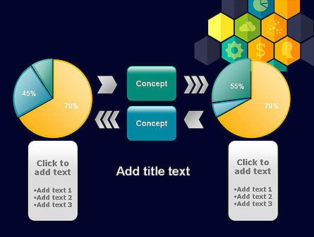 Hexagons with Icons PowerPoint Template Slide 16