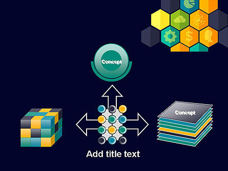 Hexagons with Icons PowerPoint Template Slide 19
