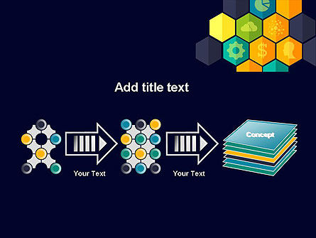 Hexagons with Icons PowerPoint Template Slide 9