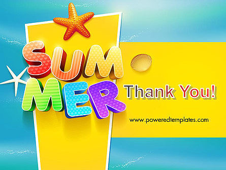 summer party powerpoint template backgrounds 12205