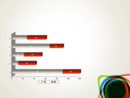 Abstract Colorful Circles PowerPoint Template Slide 11
