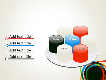 Abstract Colorful Circles PowerPoint Template Slide 12