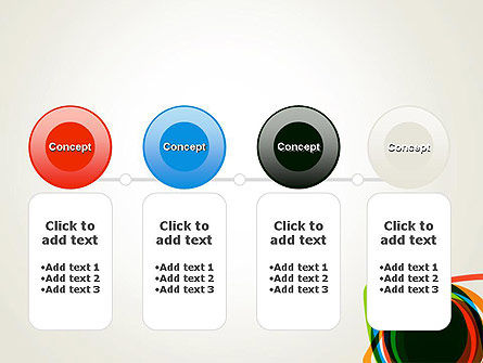 Abstract Colorful Circles PowerPoint Template Slide 5