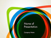 Abstract Colorful Circles PowerPoint Template#1