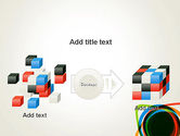 Abstract Colorful Circles PowerPoint Template#17