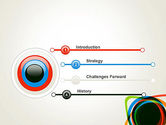 Abstract Colorful Circles PowerPoint Template#3