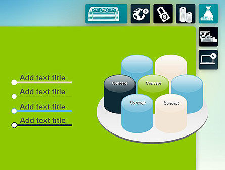 Finance Related Icons PowerPoint Template Slide 12