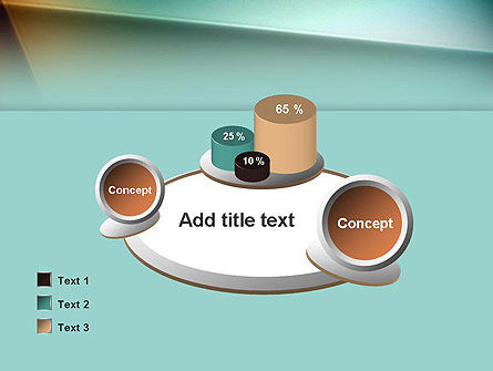 Abstraction PowerPoint Template Slide 16