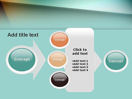 Abstraction PowerPoint Template Slide 17