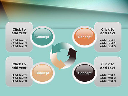 Abstraction PowerPoint Template Slide 9