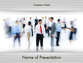 Careers/Industry: Talent Recruitment PowerPoint Template #12212