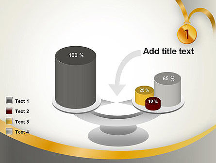 Gold Medal PowerPoint Template Slide 10
