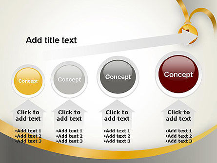 Gold Medal PowerPoint Template Slide 13
