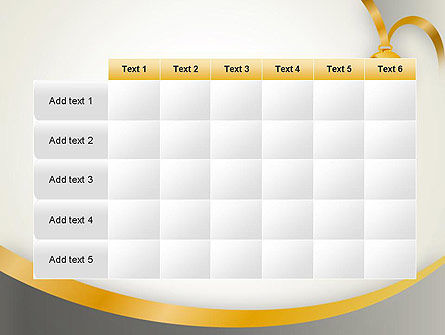 Gold Medal PowerPoint Template Slide 15