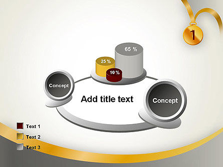 Gold Medal PowerPoint Template Slide 16