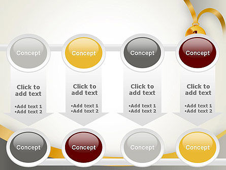 Gold Medal PowerPoint Template Slide 18