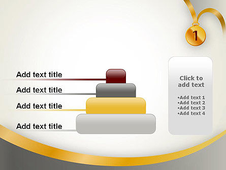 Gold Medal PowerPoint Template Slide 8