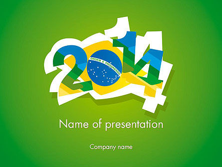 2014 Brazil World Cup PowerPoint Template